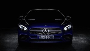 Mercedes SL po face liftingu