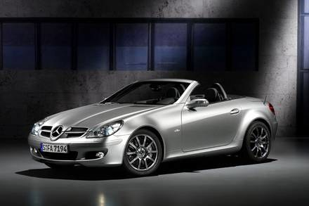 Mercedes SLK Edition 10 / Kliknij /INTERIA.PL