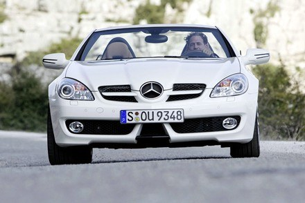 Mercedes SLK / Kliknij /INTERIA.PL