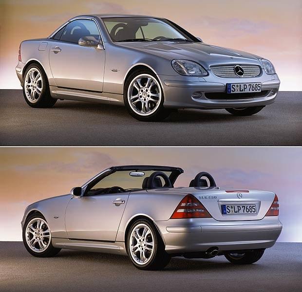 Mercedes SLK roadster (kliknij) /INTERIA.PL