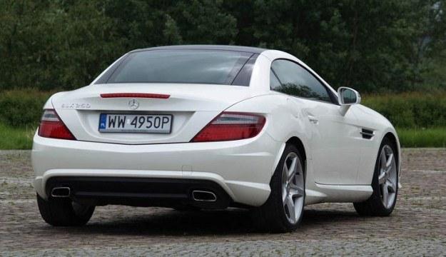 Mercedes SLK /INTERIA.PL