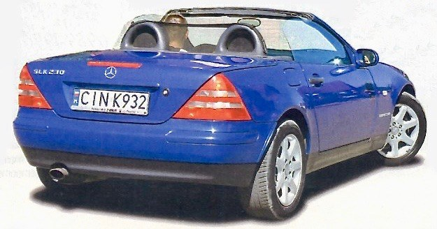 Mercedes SLK /Motor