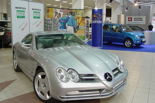 "Mercedes SLR - to ""ręczna"" robota Roberta Furtaka / kliknij /INTERIA.PL"