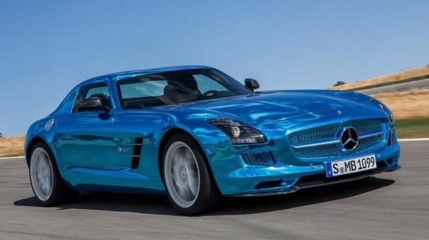 Mercedes SLS AMG Coupé Electric Drive /Mercedes