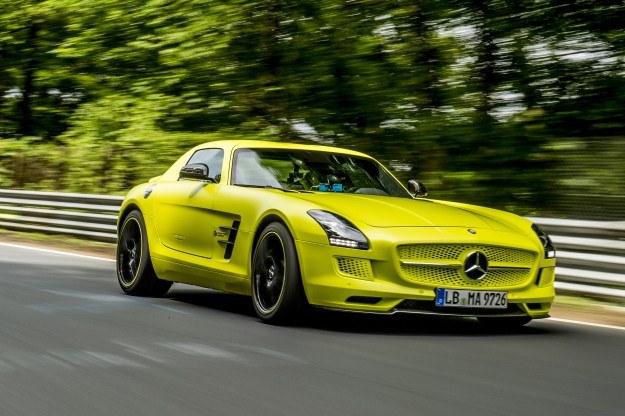 Mercedes SLS AMG Electric Drive /
