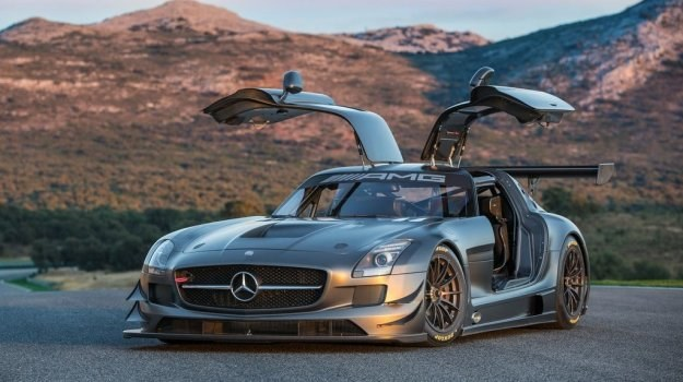 "Mercedes SLS AMG GT3 ""45th Anniversary"" /Mercedes"