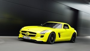 Mercedes SLS AMG na prąd