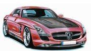 Mercedes SLS od Lorinsera