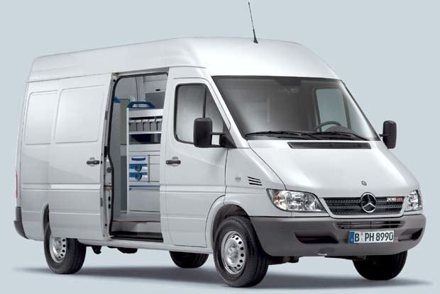 Mercedes Sprinter (kliknij) /INTERIA.PL