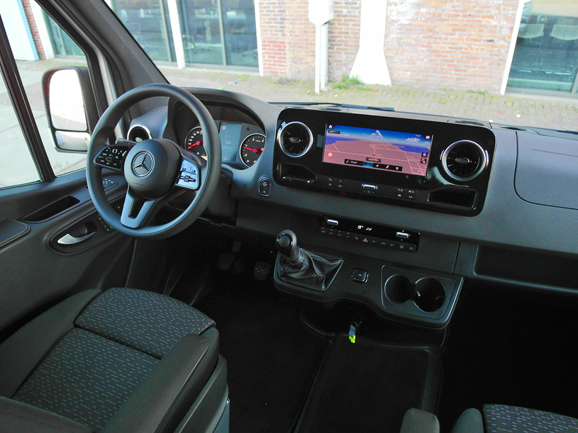 Mercedes Sprinter /INTERIA.PL