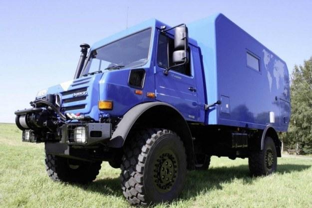 Mercedes unimog U4000 camper /