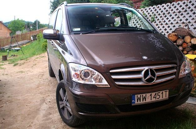 Mercedes viano /INTERIA.PL
