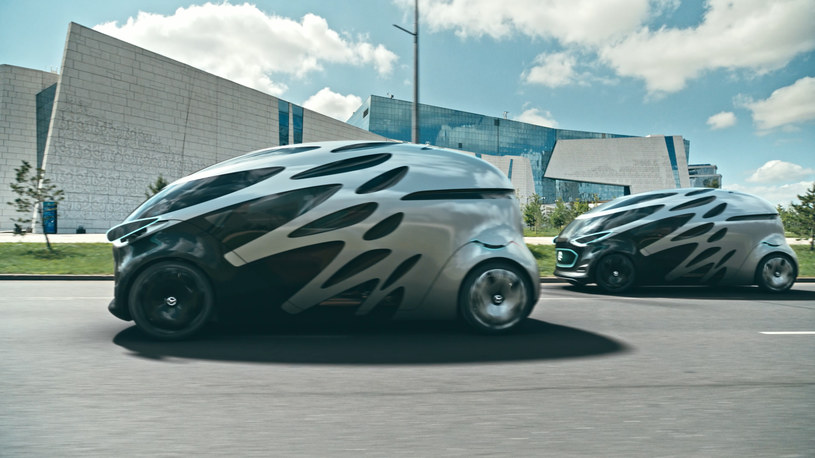 Mercedes Vision Urbanetic /