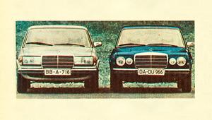 Mercedes W123: inne rozwiązania, niemal te same szaty