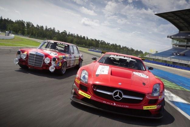 Mercedesy: 300 SEL 6,8 AMG i SLS AMG GT3 /