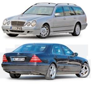 Mercedesy W210 i W220 gnębi wiele problemów /Auto Moto
