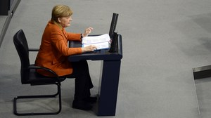 Merkel: Europa w sprawie Ukrainy musi mówić jednym głosem