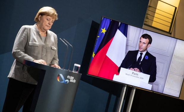 Merkel i Macron mówią o konieczności reformy strefy Schengen