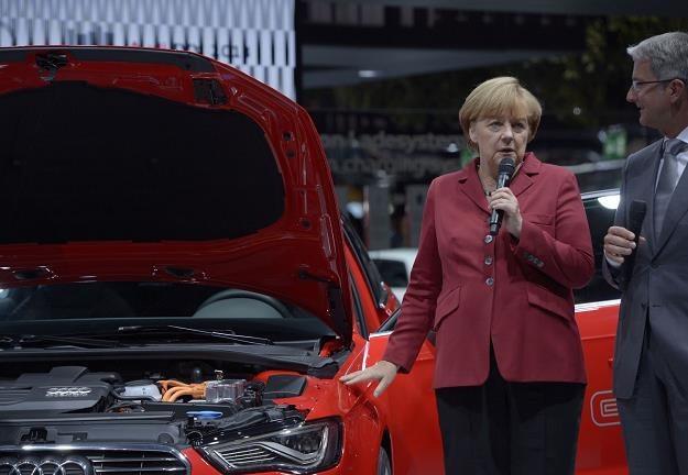 Merkel obiecała wsparcie i słowa dotrzymała /AFP