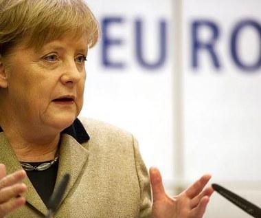 Merkel: Trzeba budować unię polityczną w Europie