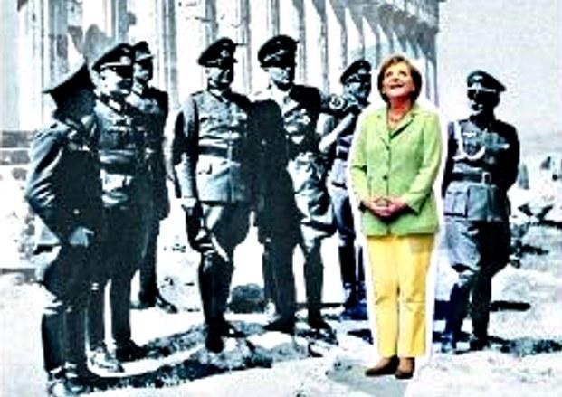 """""""Merkel w jędnym rzędzie z nazistami"""", prowokacyjna okładka Der Spiegel /"""