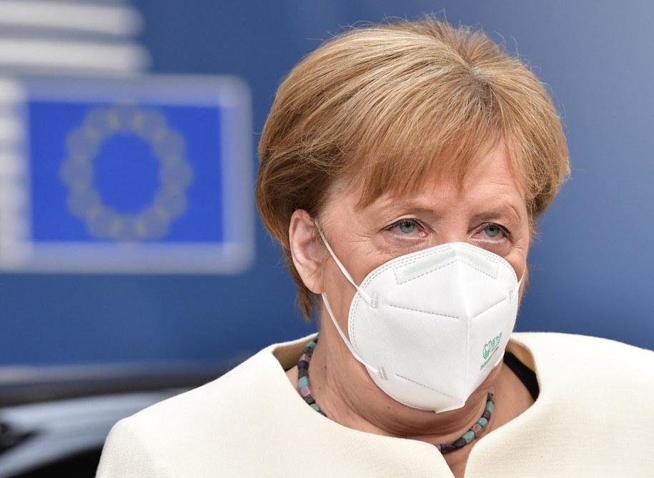 Merkel: wypracowaliśmy ramy możliwego porozumienia na szczycie UE /JOHN THYS / POOL /PAP/EPA