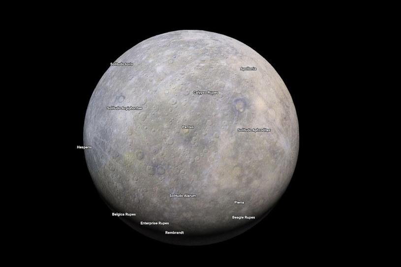 Merkury na Mapach Google /materiały prasowe