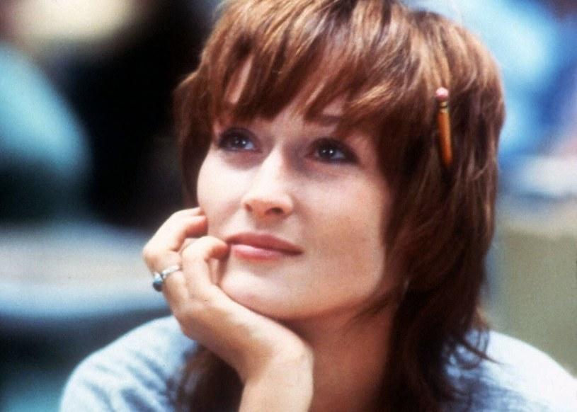 """Meryl Streep od zawsze wyznaczała trendy. Fryzurę à la sh shullet hair nosiła już w 1983 roku w filmie """"Silkwood"""" /Twenty Century Fox/Collection Christophel /East News"""