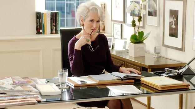 """Meryl Streep w filmie """"Diabeł ubiera się u Prady"""" /materiały prasowe"""