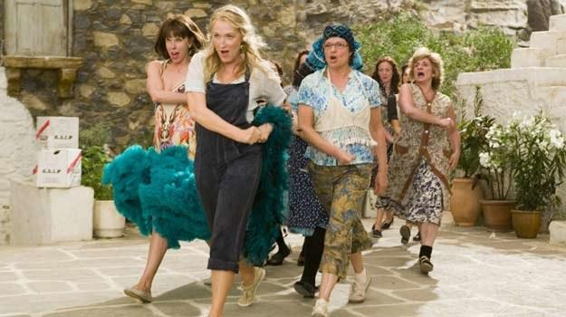 """Meryl Streep w trakcie przygotowań do """"wielkiego greckiego wesela"""" /materiały dystrybutora"""