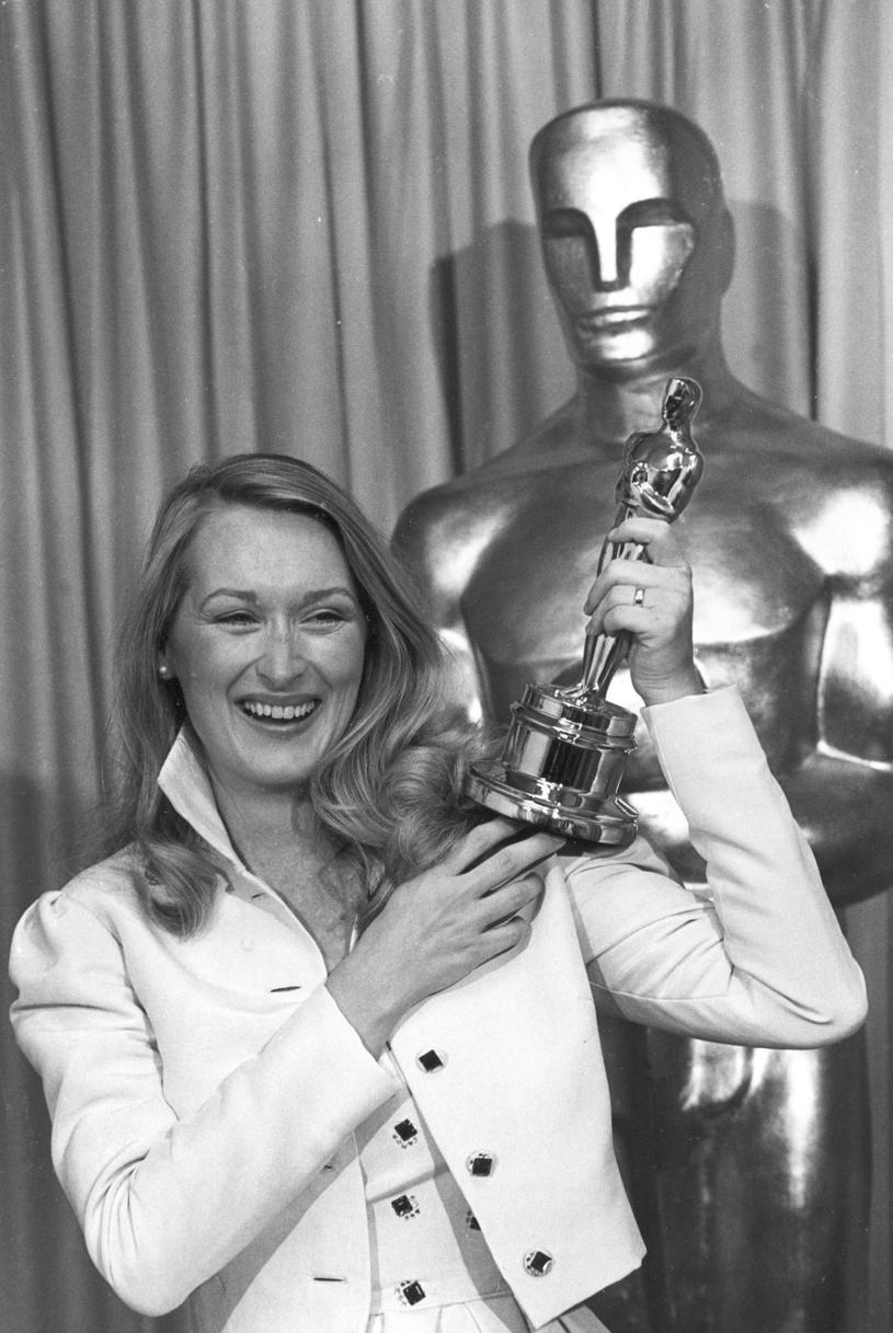 Meryl Streep z pierwszym Oscarem w karierze /ASSOCIATED PRESS/FOTOLINK  /East News