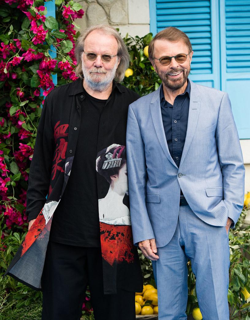 Męska cześć zespołu ABBA: Benny Andersson i Bjorn Ulvaeus /Samir Hussein/WireImage /Getty Images