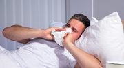Męska grypa to nie żart