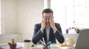 Męski stres w pracy