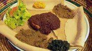 Męskie grillowanie. Indżera. Etiopski chleb do mięsa