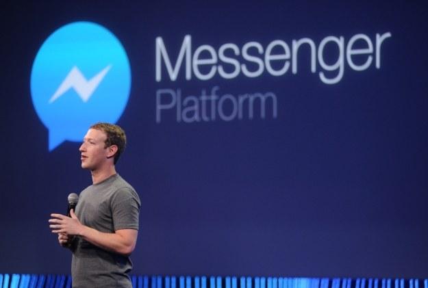 Messenger będzie miał nową funkcję? /AFP