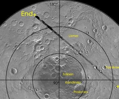 MESSENGER – przelot nad północnym obszarem polarnym Merkurego