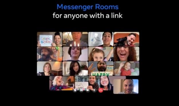 Messenger Rooms /materiały prasowe