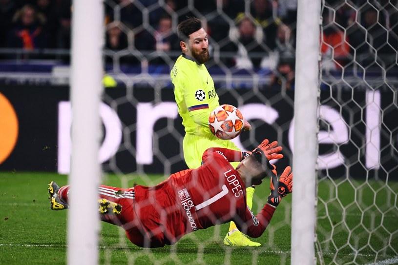 Messi był blisko gola, ale ani razu nie trafił do siatki /AFP