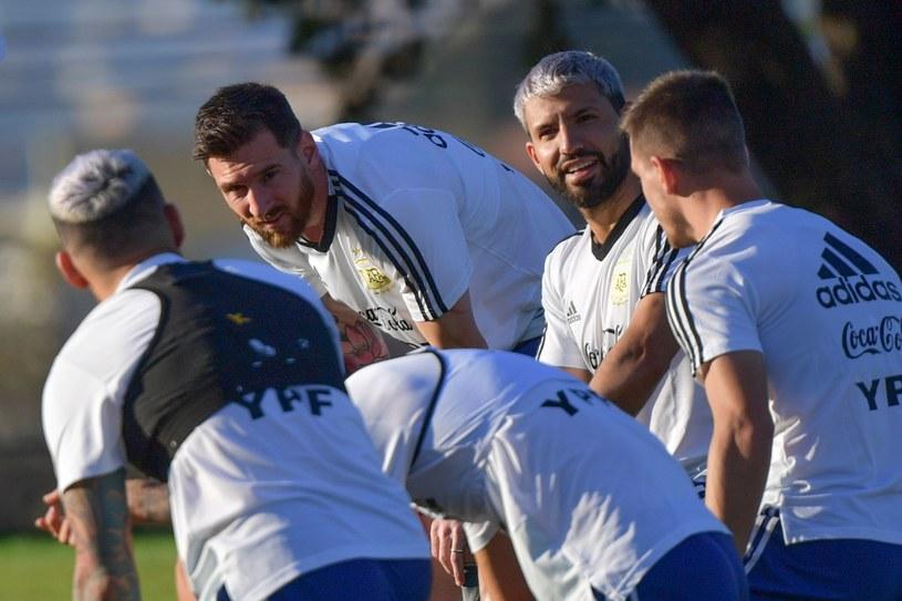 Messi i jego koledzy. Czy przyczajona Argentyna zaskoczy Brazylię? /AFP