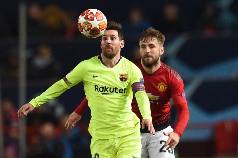 Messi i Shaw /AFP