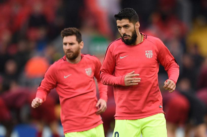 Messi i Suarez /AFP