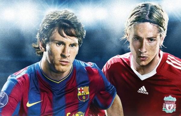 Messi i Torres coś smutno spoglądają z okładki Pro Evolution Soccer 2010 /INTERIA.PL