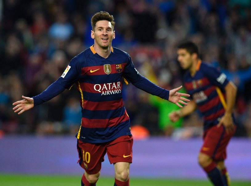 Messi po zdobyciu bramki /AFP