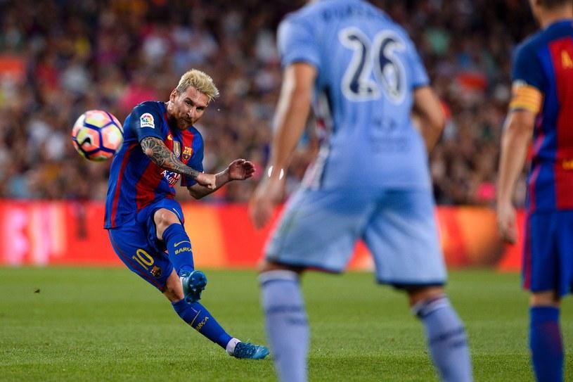 Messi podczas spotkania z Sampdorią Genua /AFP