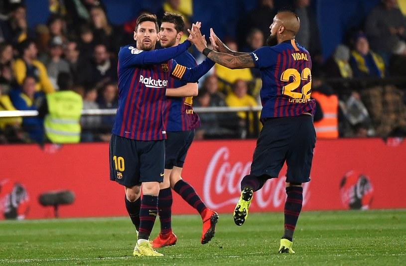 Messi strzelił dla Barcelony kolejnego gola z rzutu wolnego /AFP