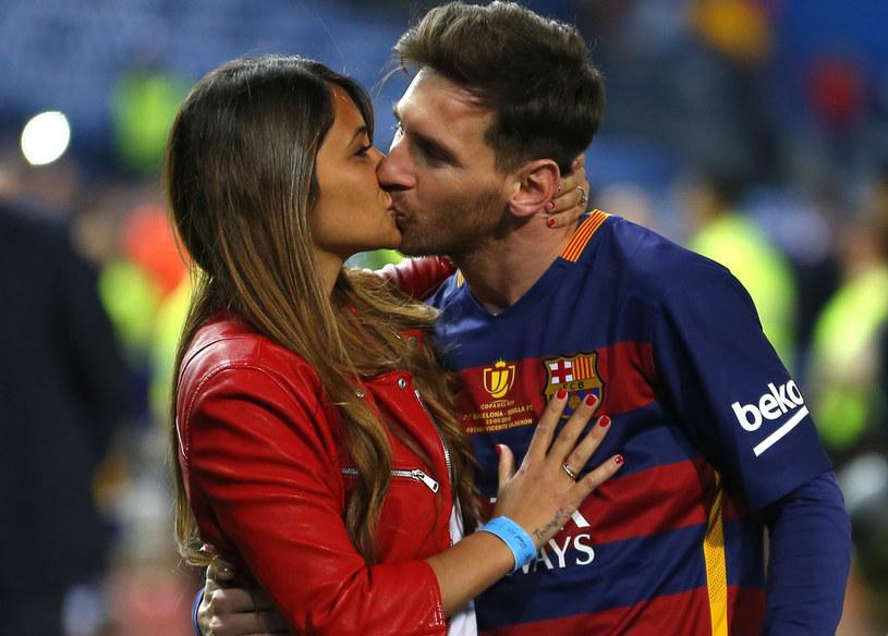 Messi z ukochaną /AP /East News