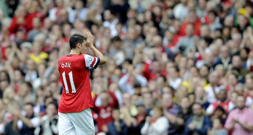 Mesut Oezil, nowa gwiazda Arsenalu /AFP