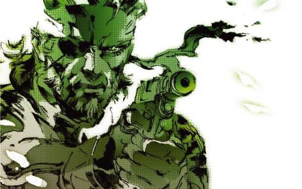 Metal Gear Solid: Snake Eater - motyw graficzny /Informacja prasowa