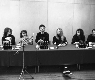 """Metallica na unikatowych zdjęciach z Polski z 1987 r. Kiedy premiera książki """"Metallica Poland 1987. Behind the Iron Curtain""""?"""